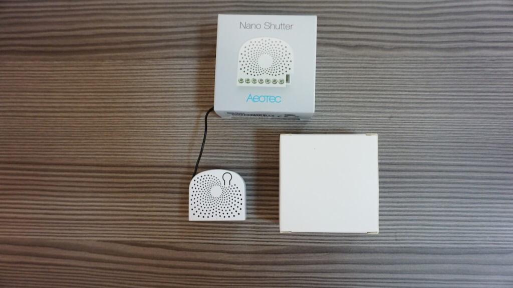 Aeotec Nano Shutter balenie
