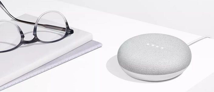 google home mini charcoal 1