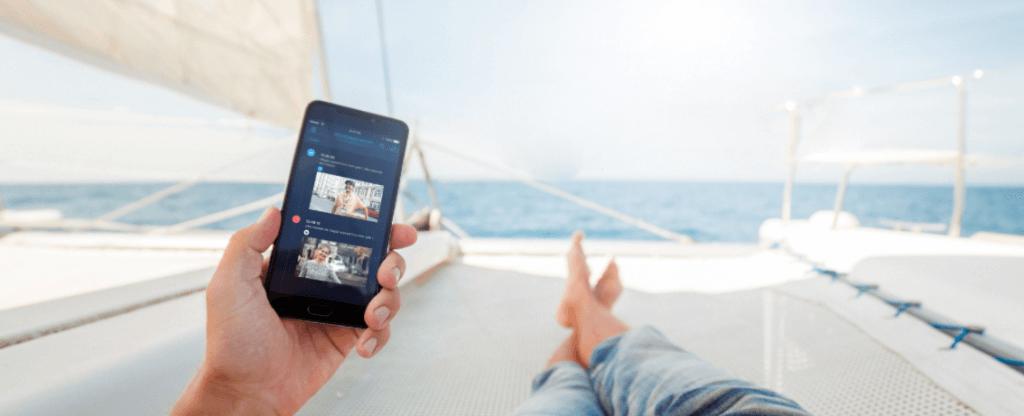 Videovrátnik cez mobil