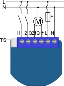 qubino-flush-shutter-230vac